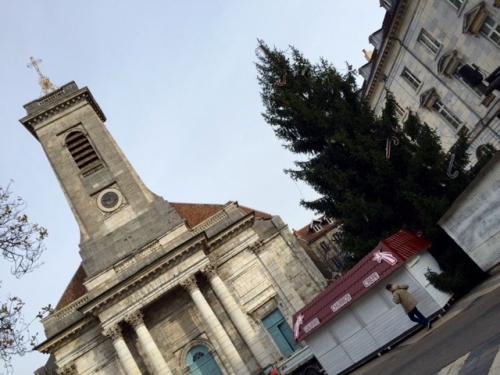 Besançon, franche-comté, noël